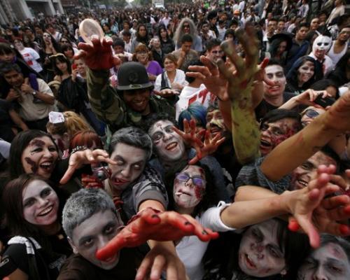 Зомбита в Мексико Сити 5