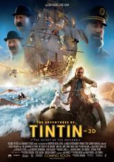 Приключенията на Тинтин 3D
